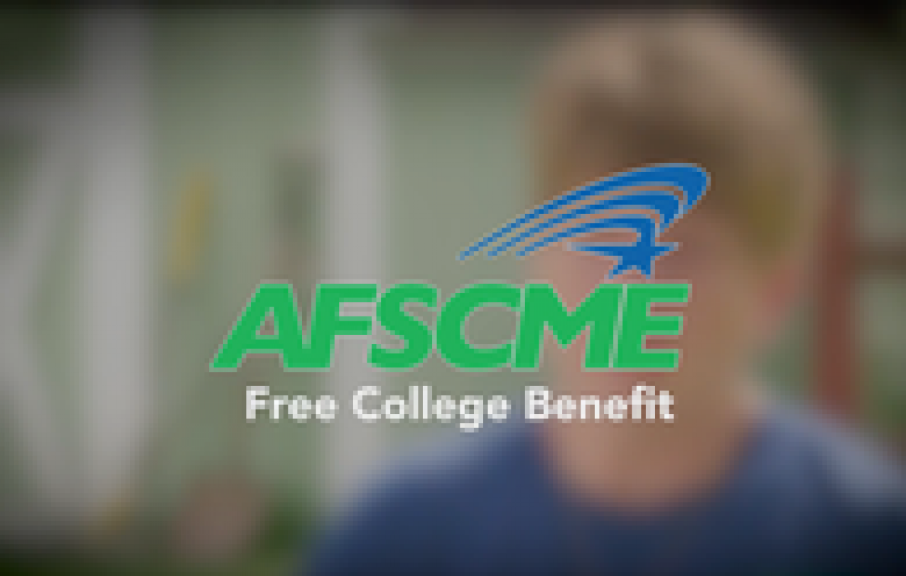 AFSCME; Free College; Associate Degree